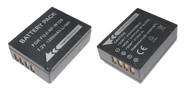 【単品】富士フィルムNP-W126 互換バッテリー FUJIFILM X-M1/X-Pro1/FinePix HS50EXR/HS30EXR 対応
