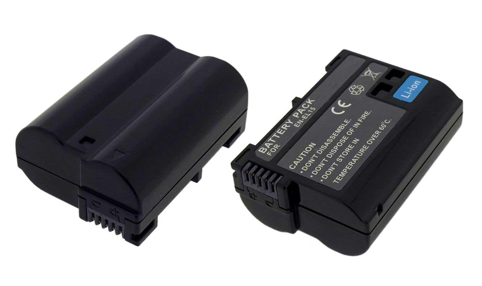【単品】ニコンEN-EL15 互換バッテリー Nikon 1 V1・D800・D800E・D600・D610・D7000・D7100対応